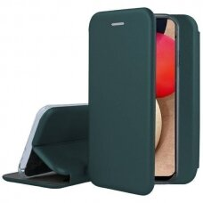 Dėklas Book Elegance Samsung A025F A02s tamsiai žalias
