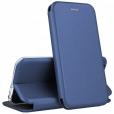 Dėklas Book Elegance Samsung A125 A12 tamsiai mėlynas