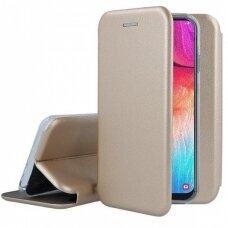 Dėklas Book Elegance Samsung A505 A50/A507 A50s/A307 A30s aukso spalvos UCS031