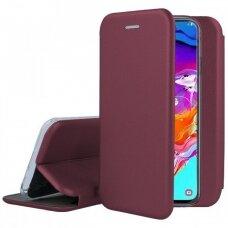 Dėklas Book Elegance Samsung A505 A50/A507 A50s/A307 A30s bordo UCS031