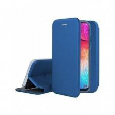 Dėklas Book Elegance Samsung A505 A50/A507 A50s/A307 A30s tamsiai mėlynas UCS031