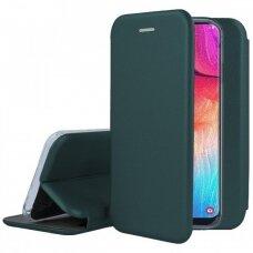 Dėklas Book Elegance Samsung A505 A50/A507 A50s/A307 A30s tamsiai žalias UCS031