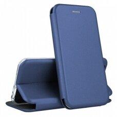 Dėklas Book Elegance Samsung A52/ A52s tamsiai mėlynas