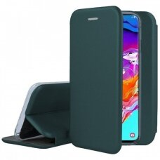 Dėklas Book Elegance Samsung A705 A70 tamsiai žalias UCS030