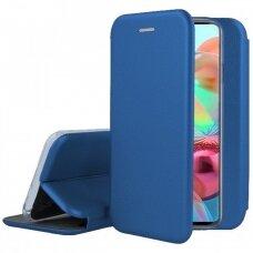Dėklas Book Elegance Samsung A715 A71 tamsiai mėlynas UCS024