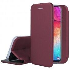 Dėklas Book Elegance Samsung G960 S9 Bordo