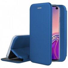 Dėklas Book Elegance Samsung G973 S10 Tamsiai Mėlynas