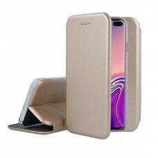 Dėklas Book Elegance Samsung G975 S10 Plus Aukso Spalvos