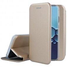 Dėklas Book Elegance Samsung N980 Note 20 Auksinis