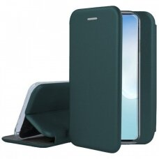 Dėklas Book Elegance Samsung Note 10 Lite/A81 Tamsiai Žalias