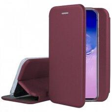 Dėklas Book Elegance Samsung S10 Lite/A91 Bordo