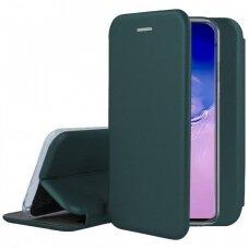 Dėklas Book Elegance Samsung S10 Lite/A91 Tamsiai Žalias