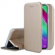 Dėklas Book Elegance Samsung S21 auksinis