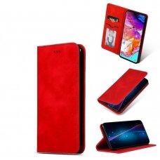 Dėklas Business Style Samsung A025G A02s raudonas