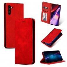 Dėklas Business Style Samsung A326 A32 5G raudonas