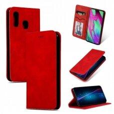 Dėklas Business Style Samsung A405 A40 raudonas UCS032
