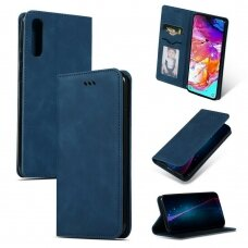 Dėklas Business Style Samsung A505 A50/A507 A50s/A307 A30s tamsiai mėlynas UCS031