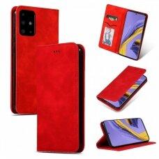 Dėklas Business Style Samsung A515 A51 raudonas UCS025