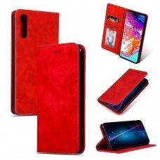 Dėklas Business Style Samsung A705 A70 raudonas UCS030