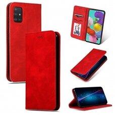 Dėklas Business Style Samsung A715 A71 raudonas UCS024