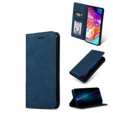 Dėklas Business Style Samsung G988 S20 Ultra/S11 Plus Tamsiai Mėlynas