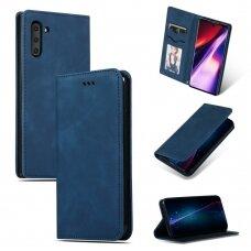 Dėklas Business Style Samsung N970 Note 10 tamsiai mėlynas UCS021