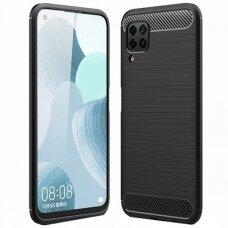 Dėklas Carbon Lux Huawei P40 Lite juodas UCS068