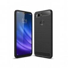 Dėklas Carbon Lux Xiaomi Mi 8 Lite juodas UCS131