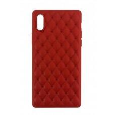 Dėklas Devia Charming Apple iPhone X/XS raudonas