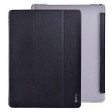 Dėklas Devia Leather Case Apple iPad Pro 10.5 2017/iPad Air 2019 juodas