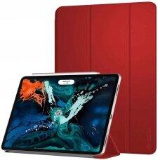 Dėklas Devia Leather Case Apple iPad Pro 10.5 2017/iPad Air 2019 raudonas