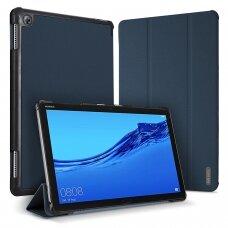 Dėklas Dux Ducis Domo Samsung T730/T736B Tab S7 FE 2021/ T970/T976B TAB S7 Plus tamsiai mėlynas