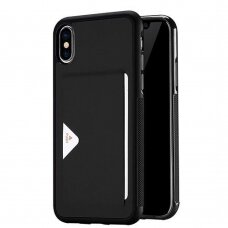 Dėklas Dux Ducis Pocard Apple iPhone XS Max juodas UCS059