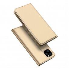Dėklas Dux Ducis Skin Pro Apple iPhone 11 Pro aukso spalvos USC057