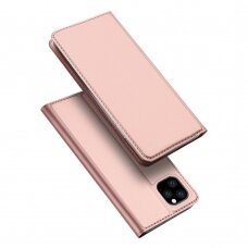Dėklas Dux Ducis Skin Pro Apple iPhone 11 Pro Max rožinis-auksinis USC056