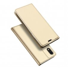 Dėklas Dux Ducis Skin Pro Apple iPhone XR aukso spalvos USC061