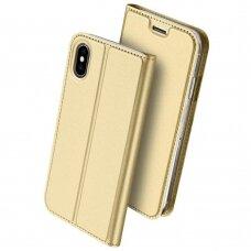 Dėklas Dux Ducis Skin Pro Apple iPhone XS Max aukso spalvos UCS059