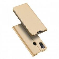 Dėklas Dux Ducis Skin Pro Samsung A11/M11 aukso spalvos UCS028