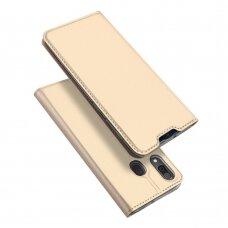 Dėklas Dux Ducis Skin Pro Samsung A202 A20E Aukso Spalvos
