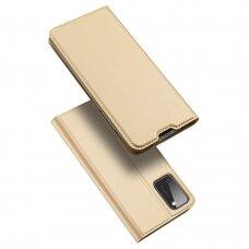Dėklas Dux Ducis Skin Pro Samsung A41 Aukso Spalvos