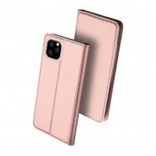 Dėklas Dux Ducis Skin Pro Samsung A426 A42 5G rožinis-auksinis