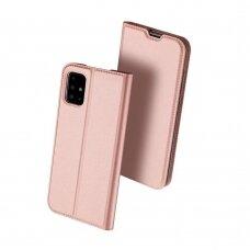 Dėklas Dux Ducis Skin Pro Samsung A515 A51 rožinis-auksinis UCS025