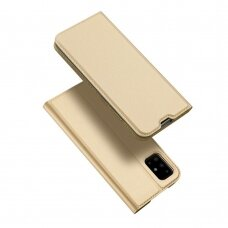Dėklas Dux Ducis Skin Pro Samsung A715 A71 aukso spalvos UCS024