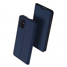 Dėklas Dux Ducis Skin Pro Samsung A715 A71 tamsiai mėlynas UCS024