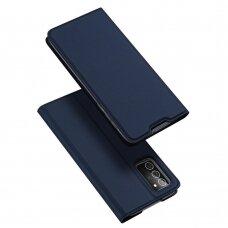 Dėklas Dux Ducis Skin Pro Samsung Note 20 Tamsiai Mėlynas