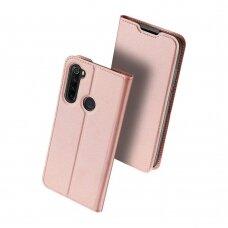 Dėklas Dux Ducis Skin Pro Xiaomi Redmi Note 8 rožinis-auksinis UCS136