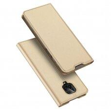Dėklas Dux Ducis Skin Pro Xiaomi Redmi Note 9 Pro/Note 9 Pro Max aukso spalvos UCS110