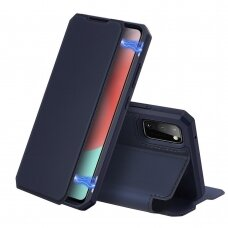 Dėklas Dux Ducis Skin X Samsung A41 Tamsiai Mėlynas