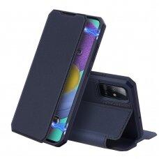 Dėklas Dux Ducis Skin X Samsung A515 A51 tamsiai mėlynas UCS025