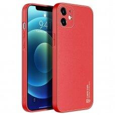 Dėklas Dux Ducis Yolo Apple iPhone 12 Pro raudonas